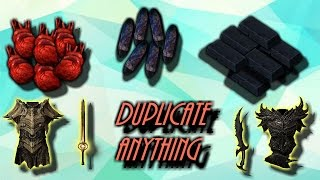 Skyrim How To Duplicate ANYTHING!