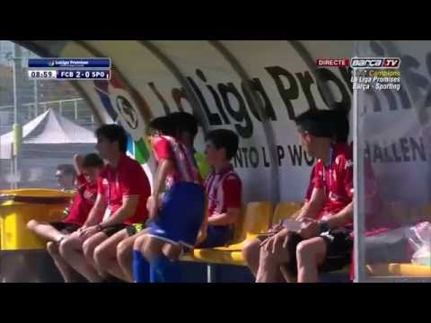 [ESP] LaLiga Promises (Alevín): FC Barcelona - Sporting Gijón (3-0)