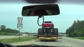 Rat Rod Mack and Monster Truck Roal Coal Police Chase