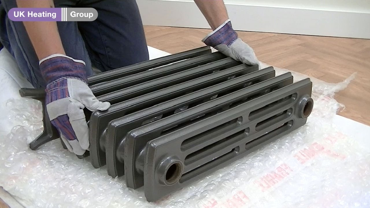 How to safely handle and move a cast iron radiator youtube how to safely handle and move a cast iron radiator freerunsca Images