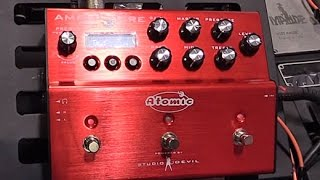 SNAMM '16 - Atomic Amps Amplifire Demo