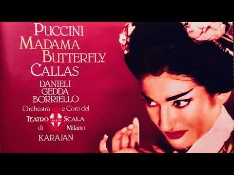 Puccini - Madama Butterfly Opera (Maria Callas - Century's recording : H.V.Karajan)