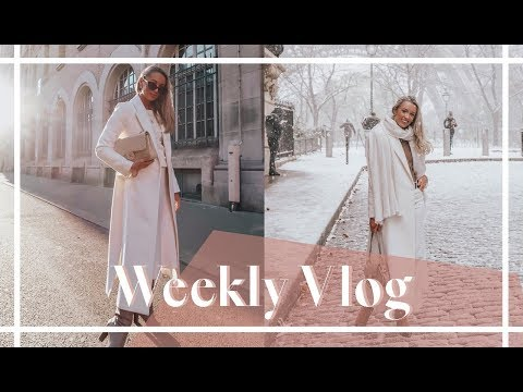 PARIS COUTURE & NEW BEAUTY UNBOXING // Weekly Vlog // Fashion Mumblr