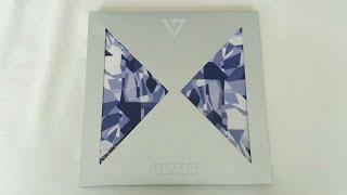 Обложка Unboxing Seventeen 세븐틴 1st Mini Album 17 Carat 세븐틴 캐럿