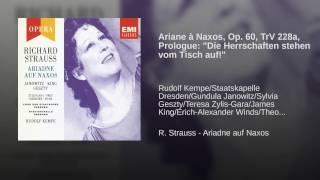 Ariadne auf Naxos (1992 Remastered Version) , Prologue: Die Herrschaften stehen vom Tisch auf!...