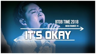 19. BTOB TIME This is US - It's Okay Live Stage [ENG]SUB]
