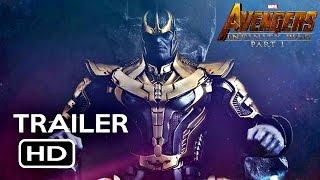 "Avengers( 2018): Infinity War- MCU Tribute Trailer – ""Beginning of the End"" part 1"
