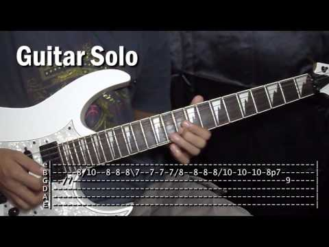 Torete Moonstar88 Guitar Solo Tutorial Lesson (WITH TABS)