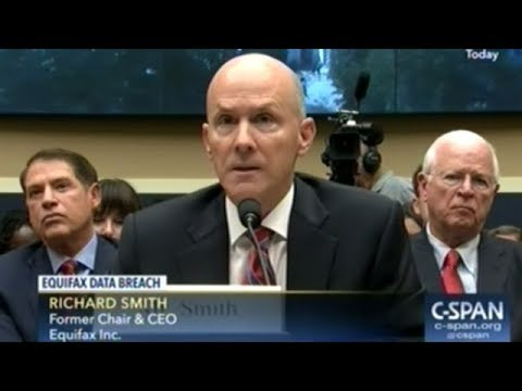 Equifax CEO Richard Smith Testifies On Hacking That Compromised Millions Of Americans Personal Info