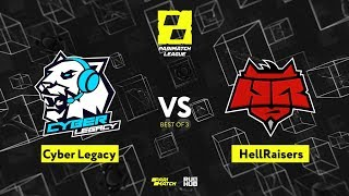 Cyber Legacy vs HellRaisers Game 1 - Parimatch League Season 2: Group Stage