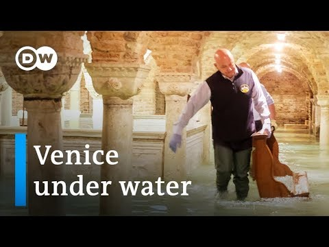 Venice flooding in Italy is the worst in 50 years, and the mayor ...