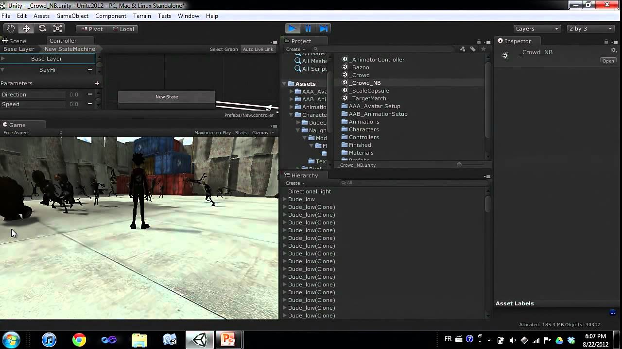 how to make animation unity