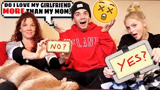 WHO KNOWS ME BETTER?! (MOM vs GIRLFRIEND)