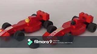 LEGO MINI FERRARI F1 CARS