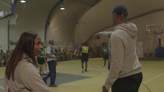 Hoops For Troops - NBA/ WNBA Plays For US Troops In Afghanistan