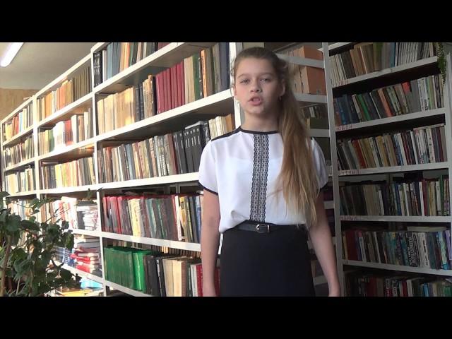 Изображение предпросмотра прочтения – ЭльвираФоменко читает отрывок изпроизведения «Бородино» М.Ю.Лермонтова