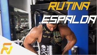RUTINA PARA VOLUMEN EN ESPALDA EN 4 SEMANAS!!!