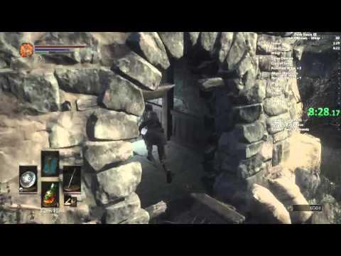Dark Souls III All Bosses Whip speedrun