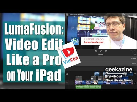 LumaFusion is a Pro Video Editor for iPad, iPhone