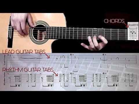 Instrumental Spanish Guitar Solo | Tabs, Chords and Rhythm Guitar
