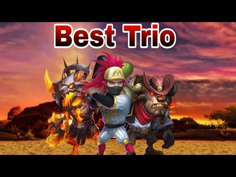 Guildwar | Mino Bomb | Let's Smash It | Best Combination | Castle Clash