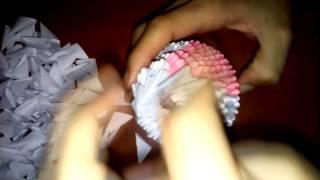 Урок. Милая кошечка из бумаги своими руками. Модульное оригами