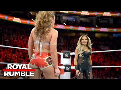 Trish Stratus returns to action in the first-ever Women's Royal Rumble Match: Royal Rumble 2018