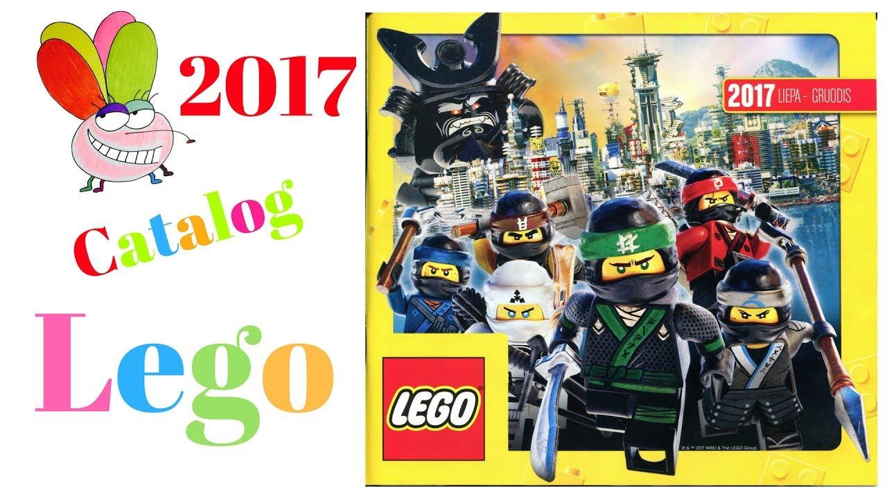 New European Lego Catalog 2017 July-December