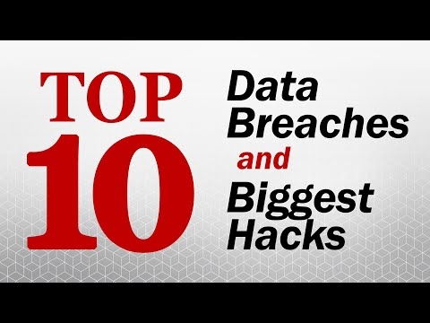 The Top 10 Data Breaches and Biggest Hacks - Solutions Review