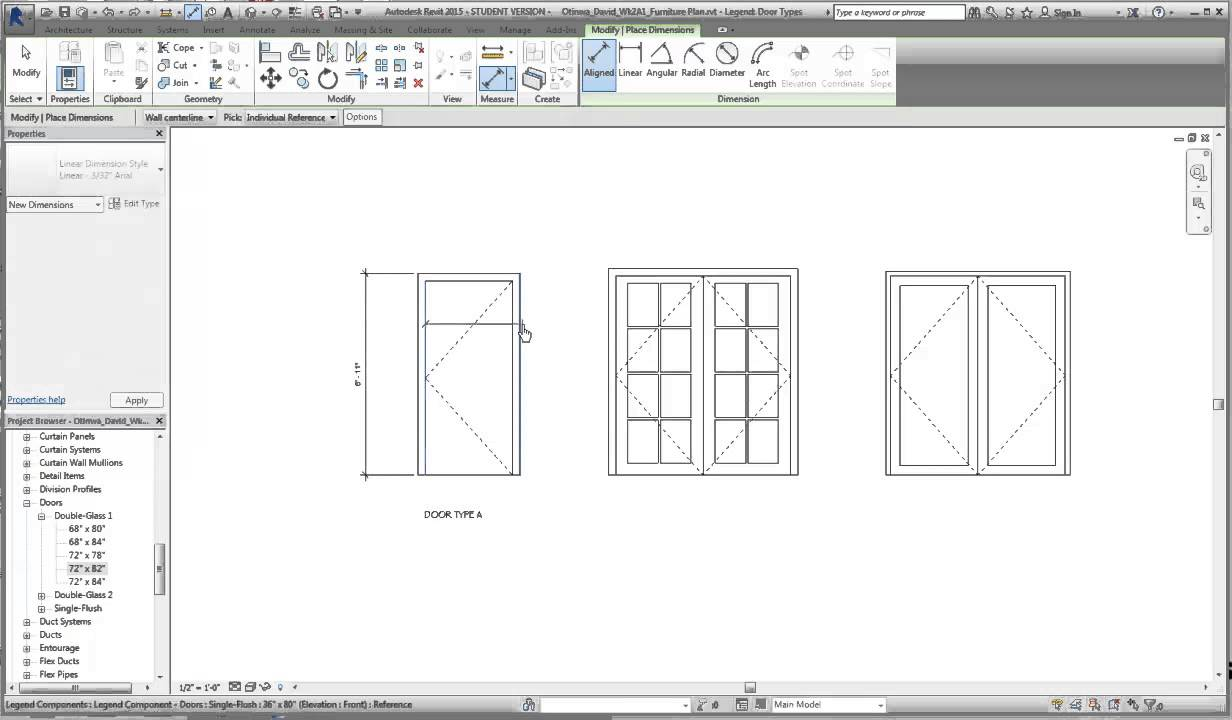 Decorating door types pics : Revit Door Schedule and types - YouTube