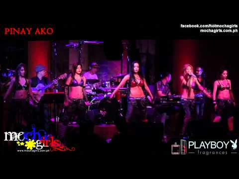 MOCHA GIRLS with ICE Band live @ Hard Rock Café, Makati - Pinay Ako (MOCHA Girls carrier single)