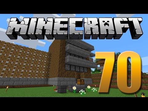Farm de Maçãs / Madeira / Mudas - Minecraft Em busca da casa automática #70.