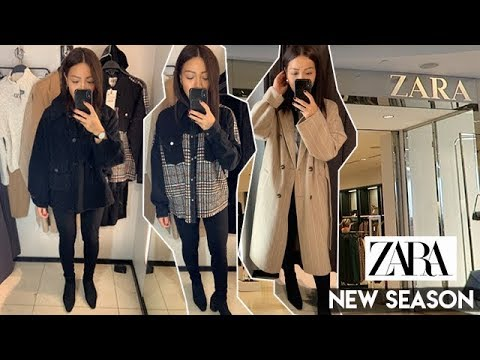 NEW IN ZARA AUTUMN HAUL | COME SHOPPING WITH ME