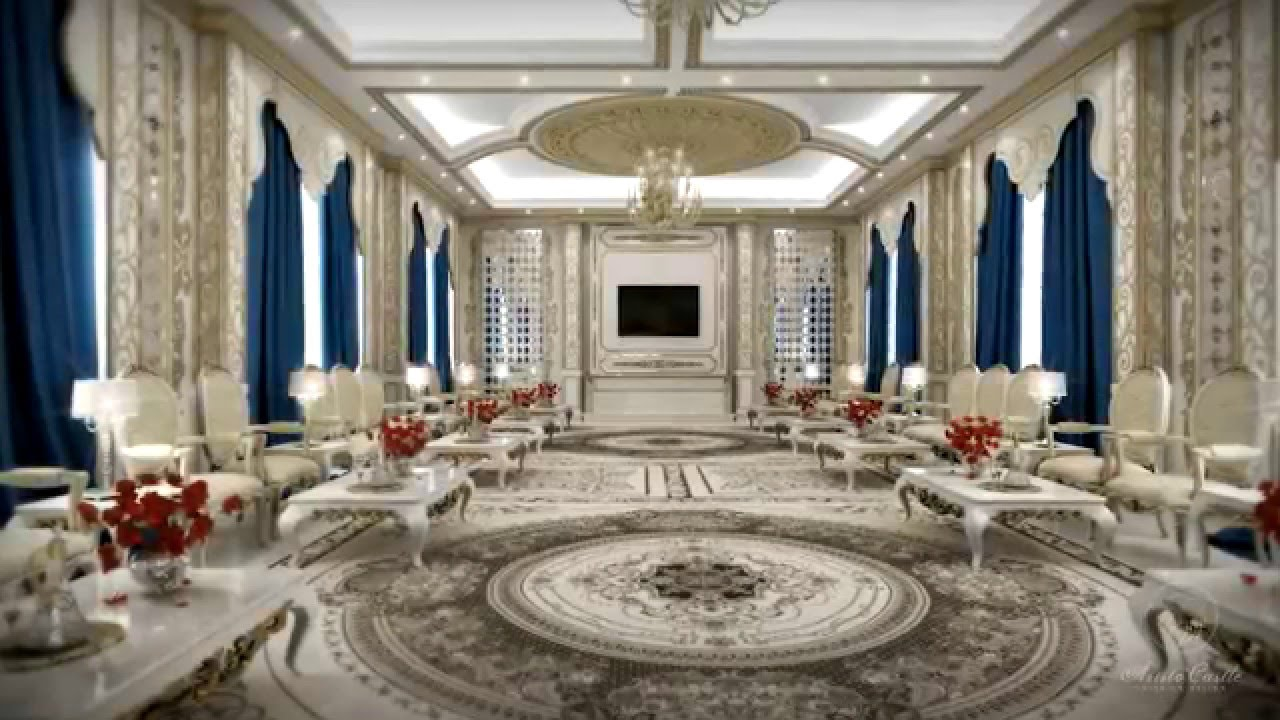 Interior Design Presentation   Classic Living Room Design   Classic Majlis    By Aristo Castle   YouTube