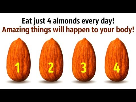 What'll Happen If You Eat 4 Almonds Every Day