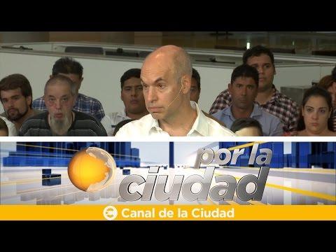 """<h3 class=""""list-group-item-title"""">Horacio Rodríguez Larreta anunció sus compromisos de gestión junto a vecinos - Por la ciudad</h3>"""