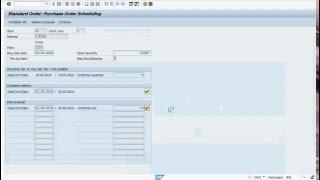 SAP MM Tiers Processus avec un chiffre d'affaires de l'Ordre de la création