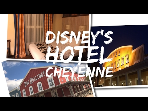 Disney's Hotel Cheyenne - Disneyland Paris - Texas Room Tour and Hotel Tour - April 2017