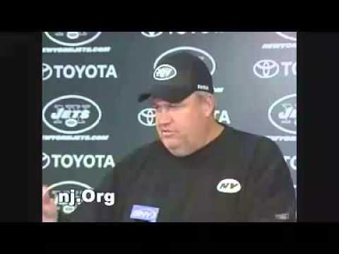 Rex Ryan Jets vs. Colts 2009 NJ.ORG Archives