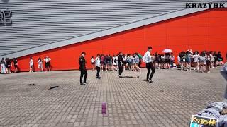 [KrazyHK]17812 Seventeen diamond edge in HK flashmob - NO F.U.N + Highlight  Cover Dance HK