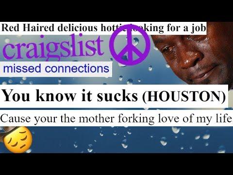 Craigslist Com Houston >> Creepy Craigslist Missed Connections 6 Houston Edition