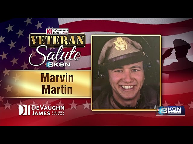 Veteran Salute: Marvin Martin