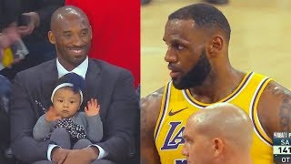 Kobe Bryant Watches LeBron James CHOKE Free Throws (Parody)