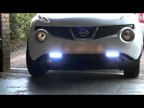Juke Nissan 2016 >> Nissan Juke Daytime Running Lights - YouTube