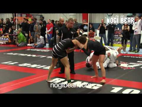 BRUTAL GUILLOTINE! Brianna Bogdan vs Jenny Lofaro • Female No-GI Grappling Expert: Nogi Bear® • nogibear.com Amateur Grappling League® • amateurgrappling.com Professional Grappling League® • professionalgrappling.com 17 Deer Pond Blvd • Atco, NJ 08004 • info@nogibear.com  © 2015 Nogi Bear LLC. All rights reserved.