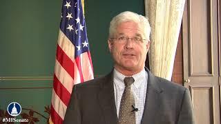 Sen. Shirkey recognizes National Anthem Day