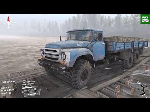 Spintires SHERP Ural Challenge - Gameplay Walkthrough Part 4 |
