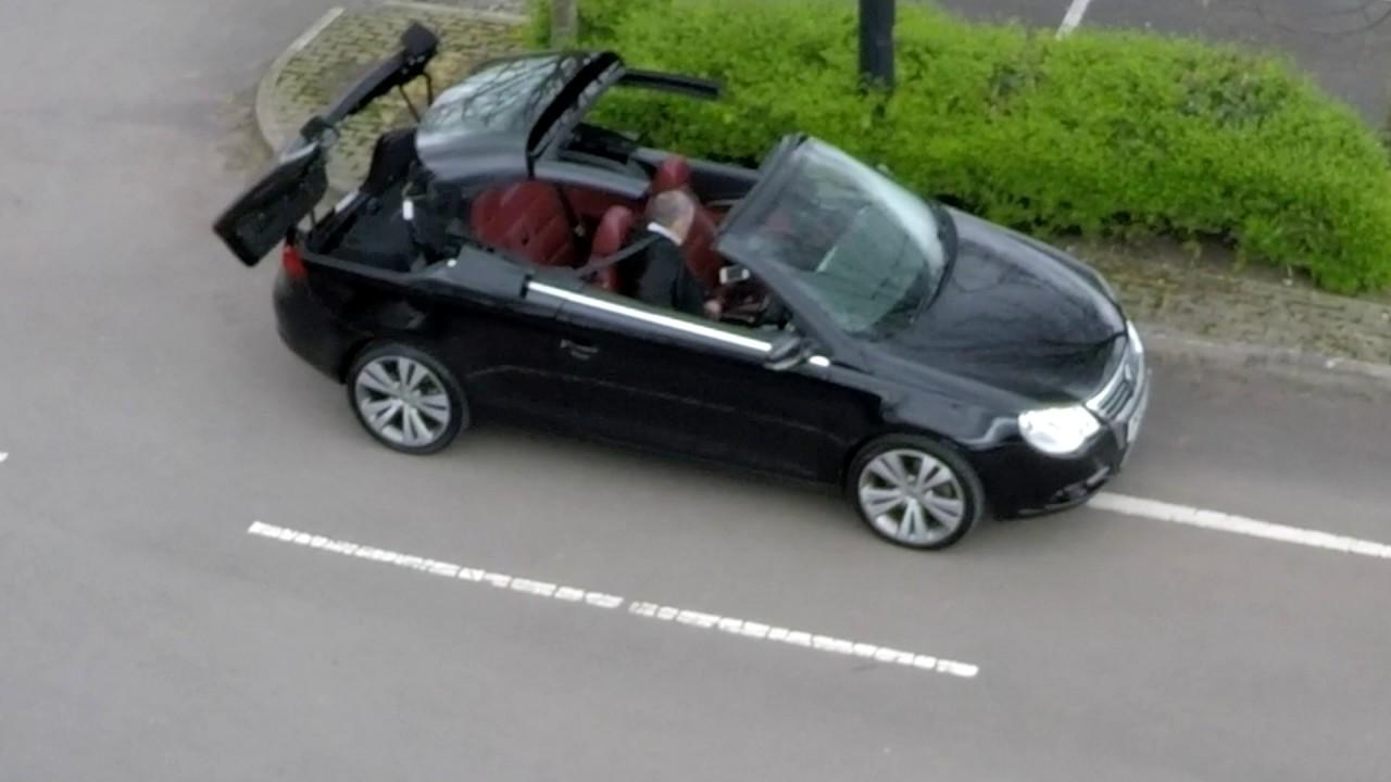 Volkswagen Eos 3 2 Fsi V6 Sport Cabriolet Roof Operation