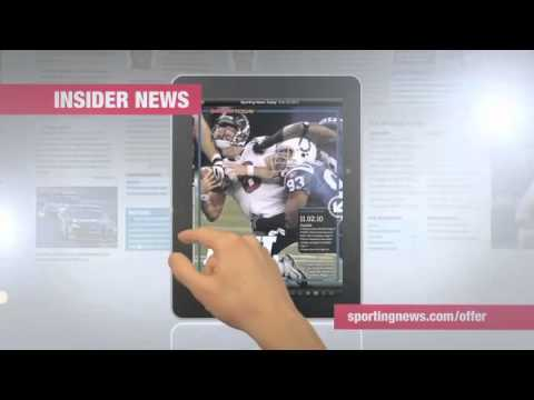 iPad Commercial - Sporting News