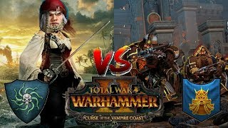 Dwarfs vs Pirates of Sartosa | Total War Warhammer 2: Curse of the Vampire Coast